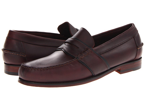 Bass - Colvin (Burgundy/Navy) Men's Shoes