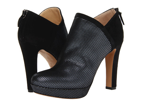 Marvin K - Fiona (Black Suede Combo) Women's Shoes