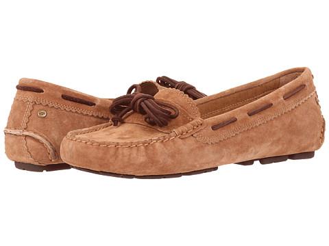 UGG - Meena (Chestnut Suede) Women's Slip on Shoes