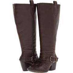 Lassen Jessop Extra Wide Calf (Chocolate) Footwear