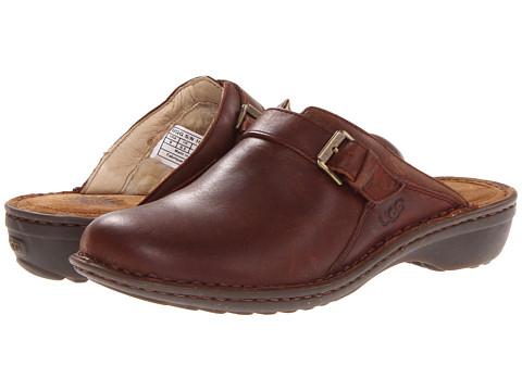UGG - Livia (Chocolate) Women's Clog Shoes