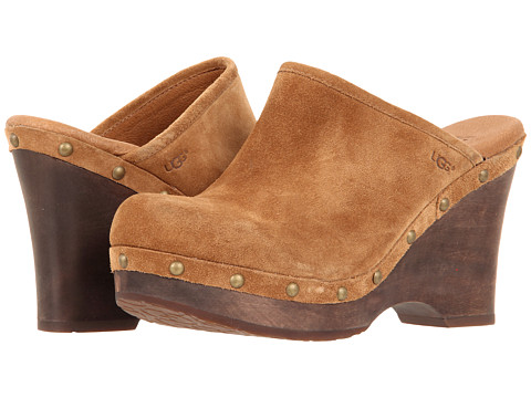 UGG - Marsalis (Dark Chestnut) Women's Clog Shoes