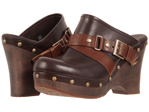 UGG - Natalee (Chocolate) Women's Clog Shoes