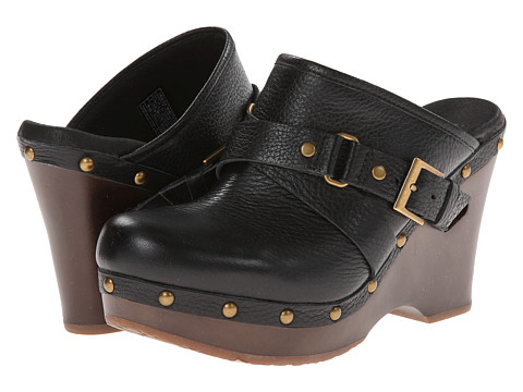 UGG - Natalee (Black Leather) Women