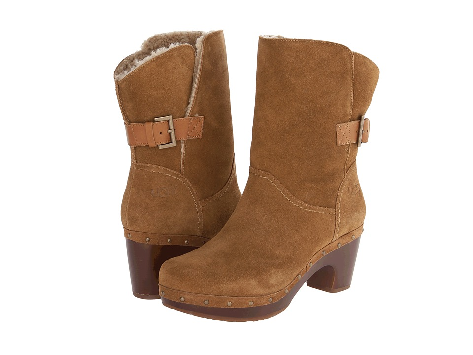 UGG - Amoret (Chestnut Suede) Women's Pull-on Boots