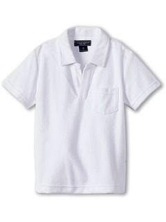SALE! $11.99 - Save $24 on Toobydoo Terry Polo (Toddler Little Kids Big Kids) (White) Apparel - 66.69% OFF $36.00