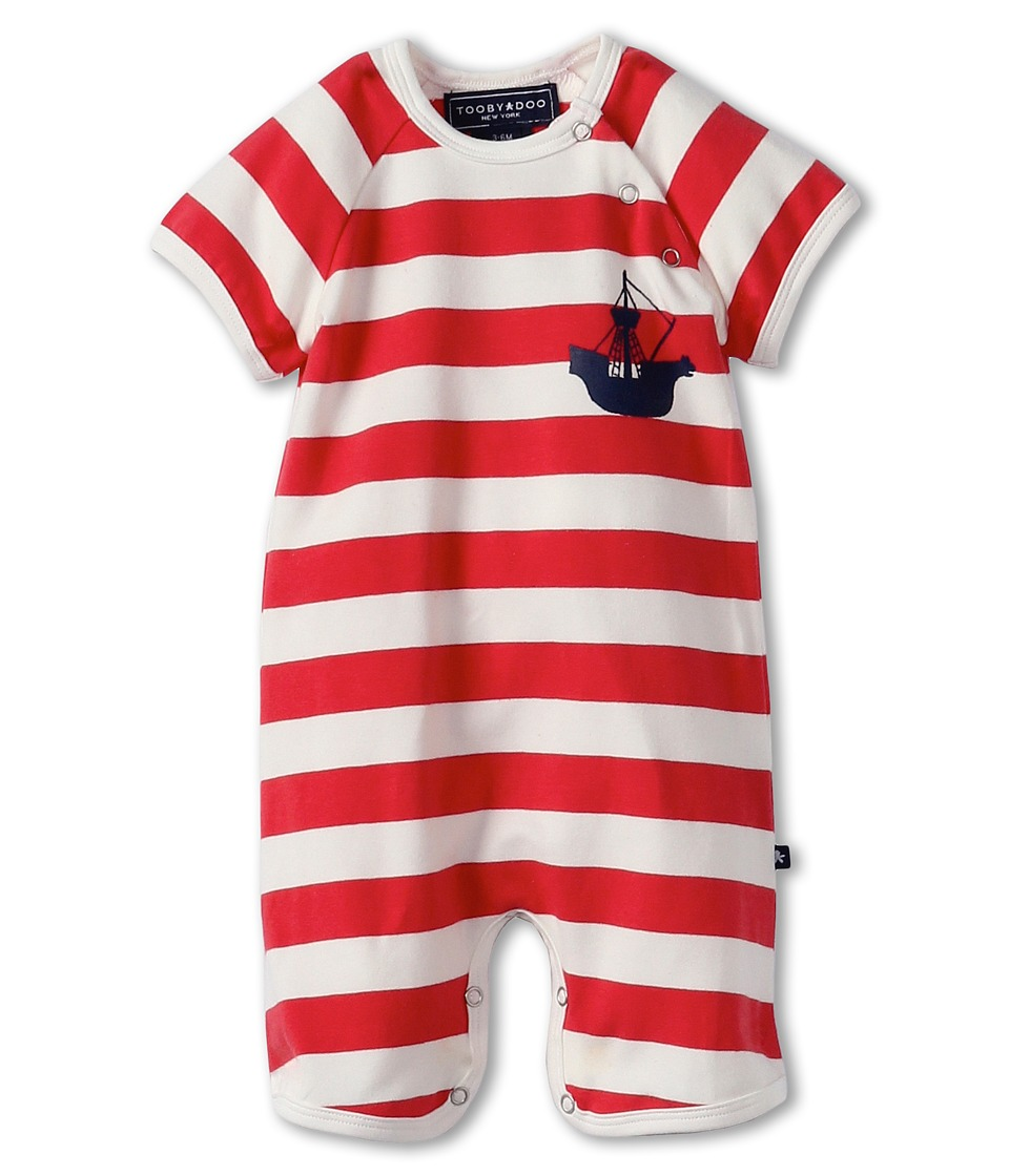 Toobydoo - Viking Shortie (Infant) (Mutli) Kid's Jumpsuit & Rompers One Piece