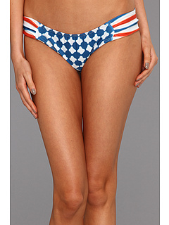SALE! $21.99 - Save $45 on Beach Riot Mixup Bottom (Americana) Apparel - 67.18% OFF $67.00