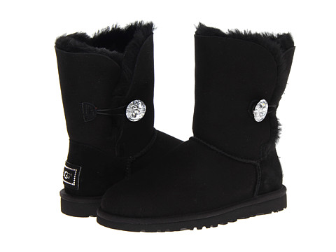 UGG - Bailey Button Bling (Black) Women's Boots