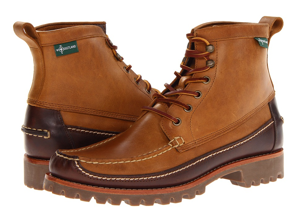 Eastland 1955 Edition - Franconia 1955 (Tan Leather/Dark Green Wool) Men