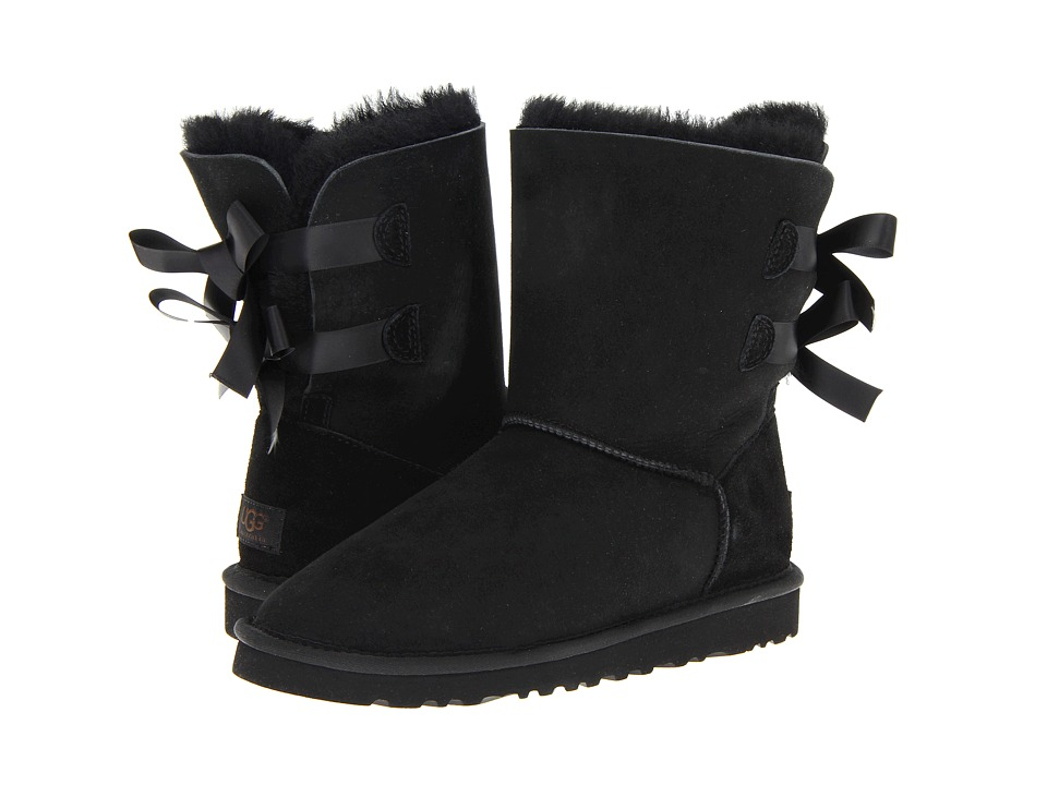 UGG - Bailey Bow (Black) Women
