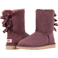 UGG Bailey Bow (Deep Bordeaux) Footwear