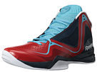 Reebok - Pumpspective Omni (Techy Red/Athletic Navy/White/Neon Blue/Green)
