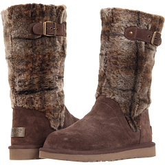 UGG Katerina Plaid (Espresso) Footwear