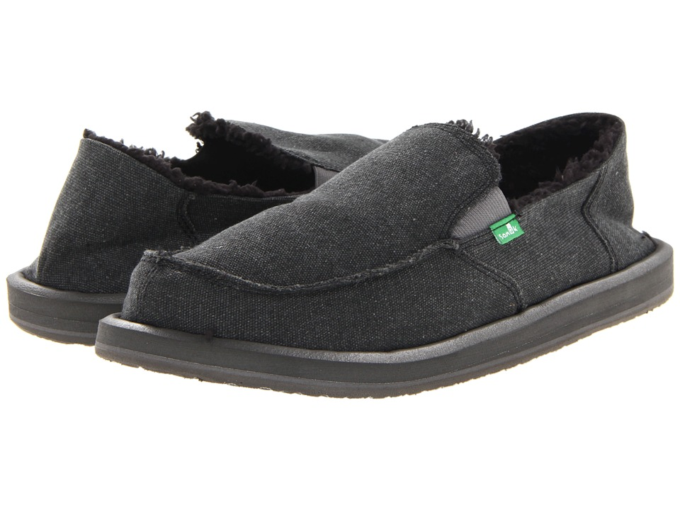 Sanuk - Vagabond Chill (Charcoal 2) Men's Slip on Shoes