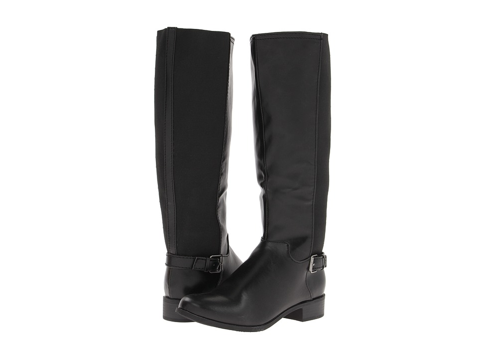 Romantic Soles - Korrie (Black) Women's Dress Zip Boots