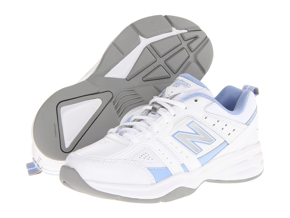 New Balance - WX409 (White/Lilac) Women's Shoes