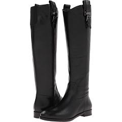 Joan David Havyn (Black Leather) Footwear
