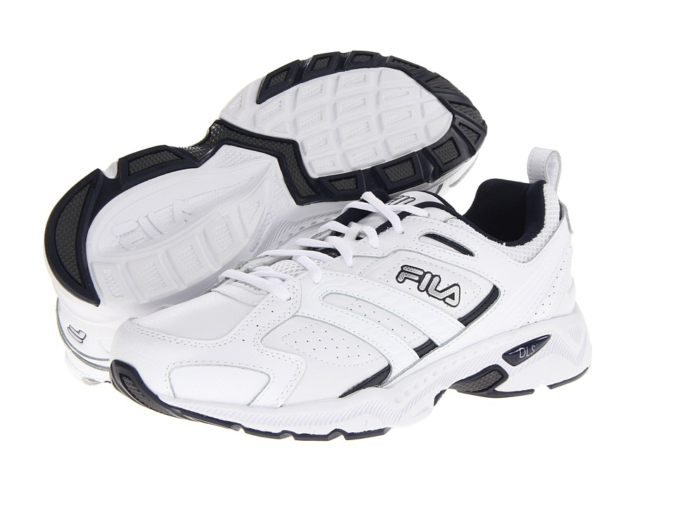 Fila Capture (White/Peacoat/Metallic Silver) Men