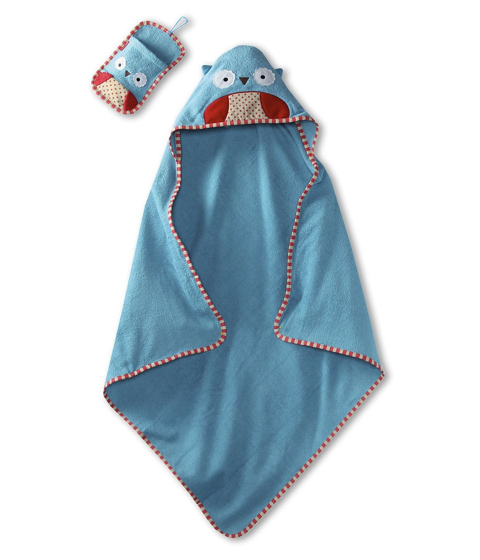 Skip Hop - Zoo Towel Mitt Set (Owl) Bath Towels