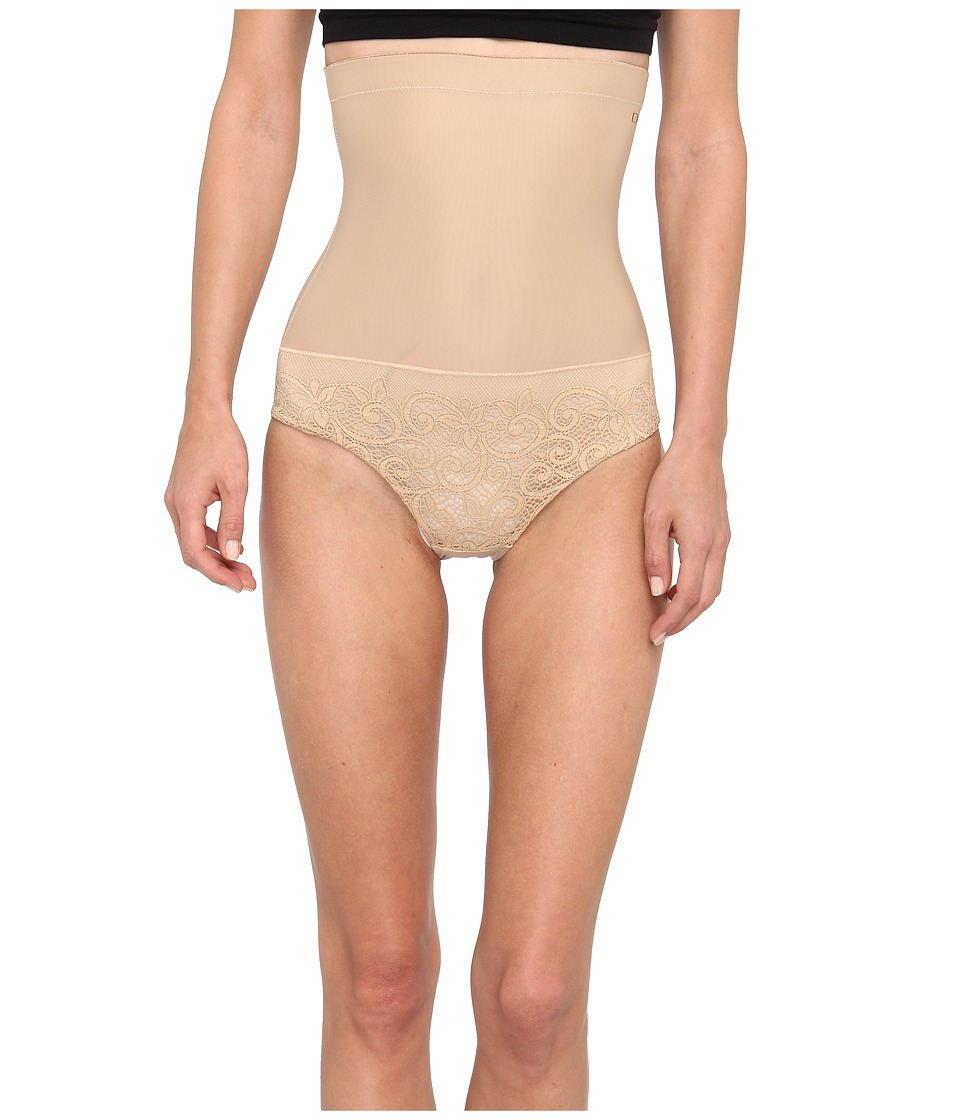 Donna Karan - Sculpting Solutions Lace Shaping Brief (Nomad/Froth) Women's Underwear