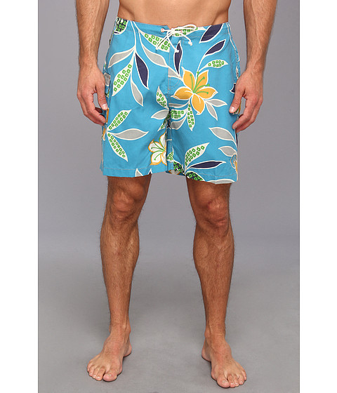 Toes on the Nose - Nuevo Boardshort (Blue) Men's Swimwear