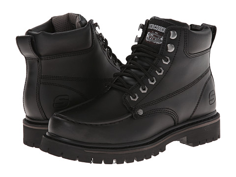 SKECHERS - Bruiser (Black) Men's Boots