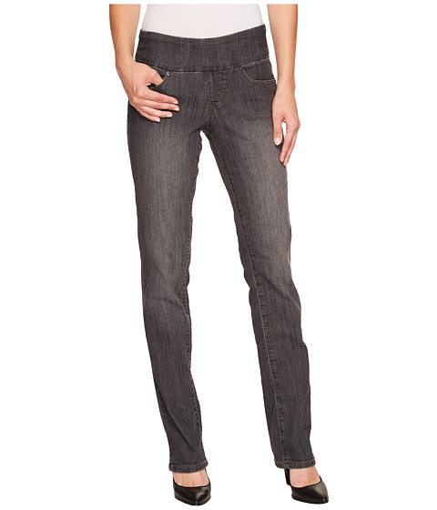 Jag Jeans - Peri Pull-On Straight in Thunder Grey (Thunder Grey) Women's Jeans