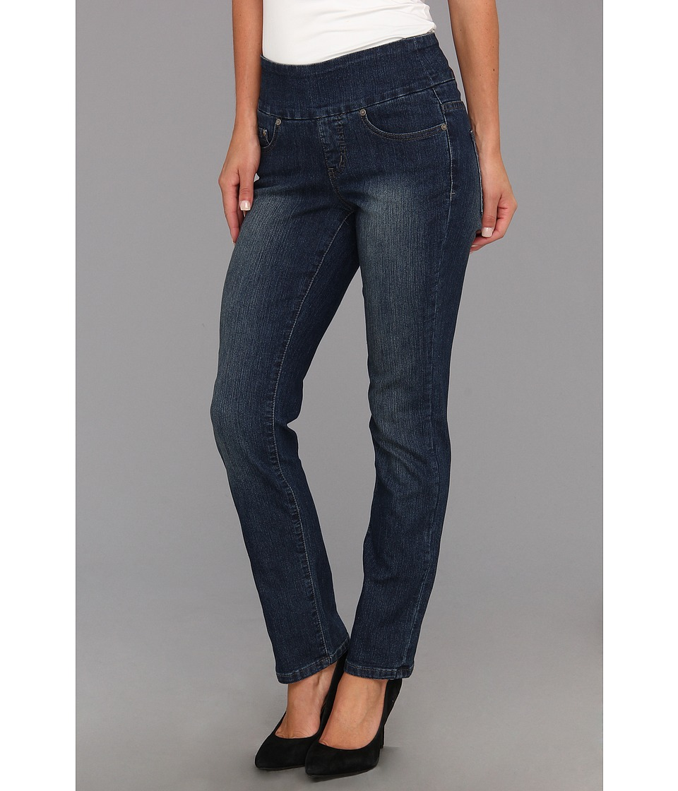 Jag Jeans - Peri Pull-On Short Straight in Anchor Blue (Anchor Blue) Women's Jeans