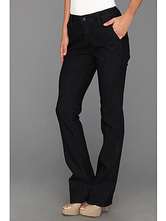 SALE! $39.99 - Save $44 on Jag Jeans Elisha Mid Rise Refined Trouser in Dark Storm (Dark Storm) Apparel - 52.39% OFF $84.00