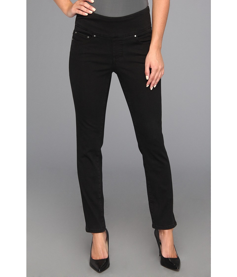 Jag Jeans - Amelia Pull-On Slim Ankle Heritage Twill (Black) Women's Casual Pants