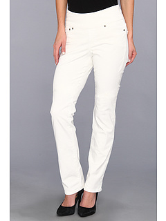 SALE! $31.99 - Save $37 on Jag Jeans Peri Pull On Pinwale Cord Straight (Snow White) Apparel - 53.64% OFF $69.00