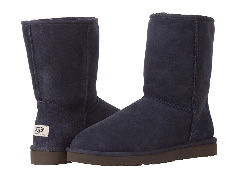 UGG - Classic Short (Navy) Men's Pull-on Boots