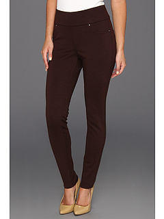 SALE! $21.99 - Save $47 on Jag Jeans Nikki Legging Double Knit Ponte (Dark Chocolate) Apparel - 68.13% OFF $69.00