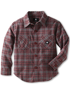 SALE! $14.99 - Save $30 on DC Kids Alchemist L S Woven (Big Kids) (Deep Red Plaid) Apparel - 66.69% OFF $45.00