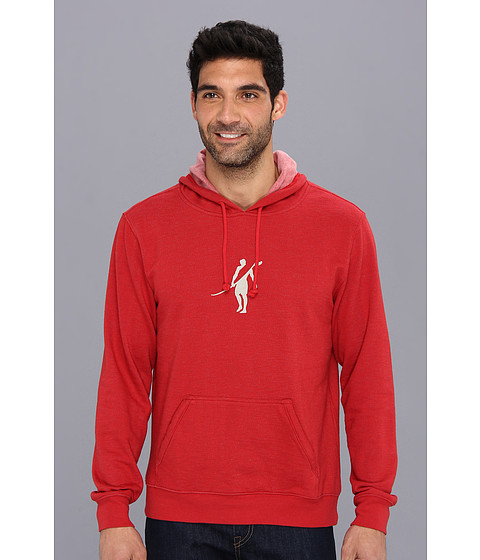 Toes on the Nose - Dawn Patrol Fleece (Red) Men's Sweatshirt