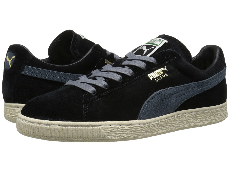 PUMA - Suede Classic Natural Calm (Black) Men's Classic Shoes