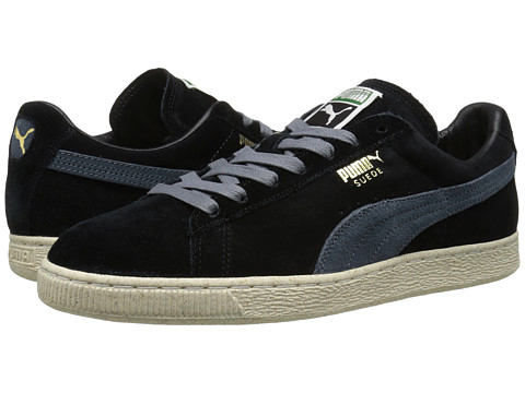 PUMA - Suede Classic Natural Calm (Black) Men