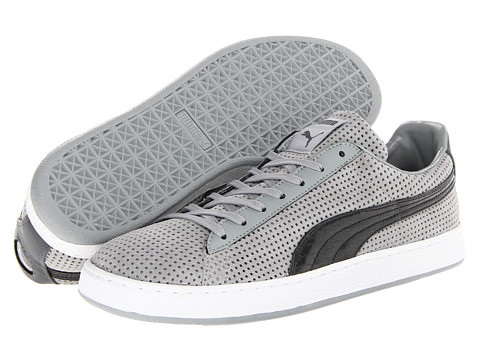 PUMA - Suede Urban Statement (Limestone Gray) Men's Shoes