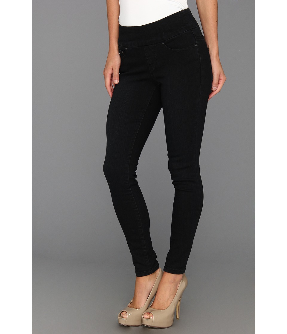 Jag Jeans Petite - Petite Nora Pull-On Skinny in Black Sand (Black Sand) Women's Jeans