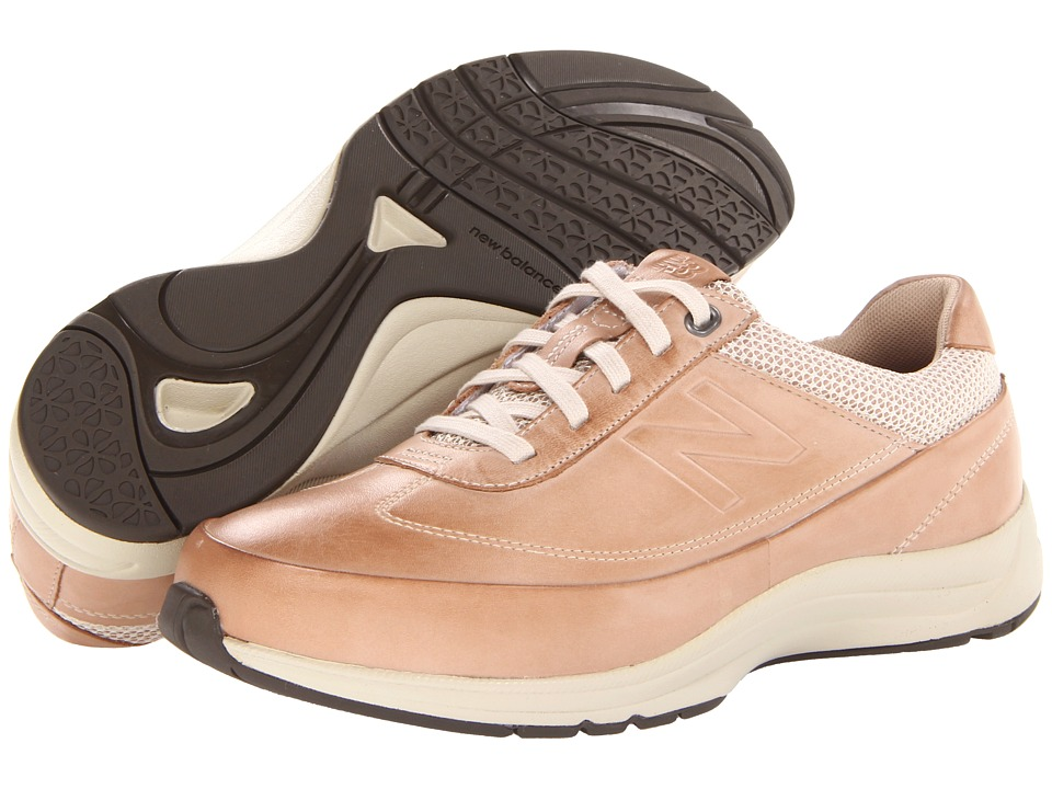 New Balance - WW980 (Tan) Women's Walking Shoes