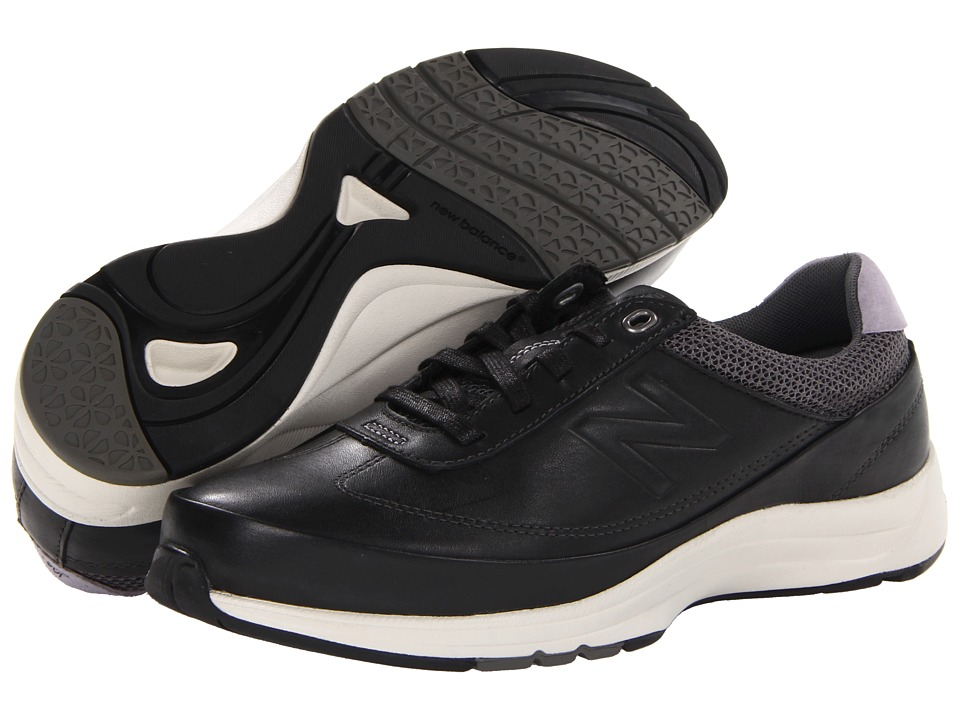 New Balance - WW980 (Black) Women's Walking Shoes