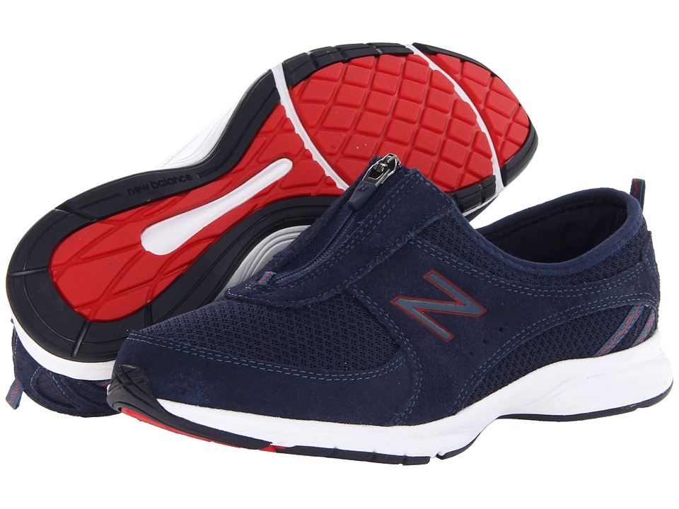 New Balance - WW565 (Navy/Red) Women's Walking Shoes