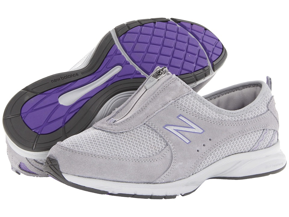 New Balance - WW565 (Grey/Purple) Women's Walking Shoes