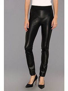 SALE! $54.99 - Save $65 on NYDJ Mixed Media Faux Leather Ponte Legging (Black) Apparel - 54.17% OFF $120.00