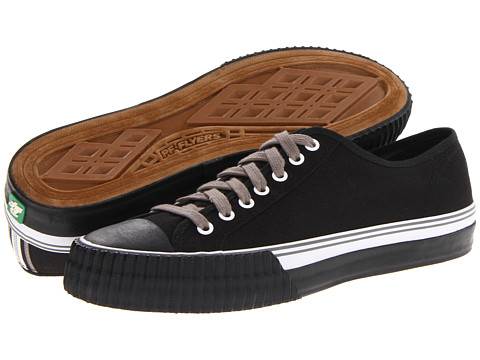 PF Flyers - Center Lo (Black Canvas 2) Lace up casual Shoes