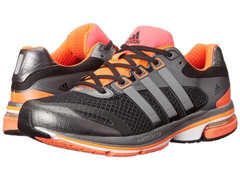 adidas Running - Supernova Glide 5 (Black/Neo Iron Metallic/Infrared) Men's Running Shoes