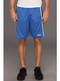 SALE! $15 - Save $15 on Fila Side Striped Training Short (Palace Blue Peacoat White) Apparel - 50.00% OFF $30.00