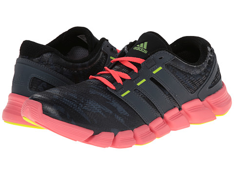 adidas Running - adipure CrazyQuick W (Dark Onix/Black/Red Zest) Women
