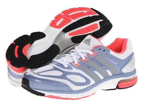 adidas Running Supernova Sequence 6 W (Running White/Metallic Silver/Red Zest) Women's Running Shoes